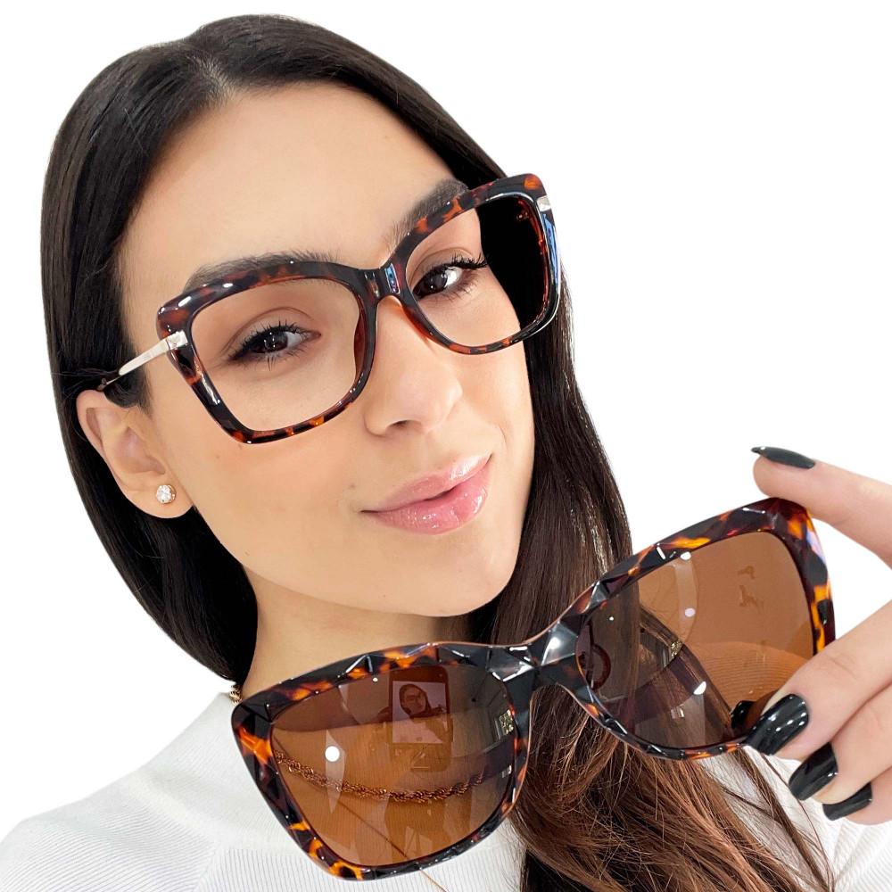 Óculos de Grau Camille Tartaruga