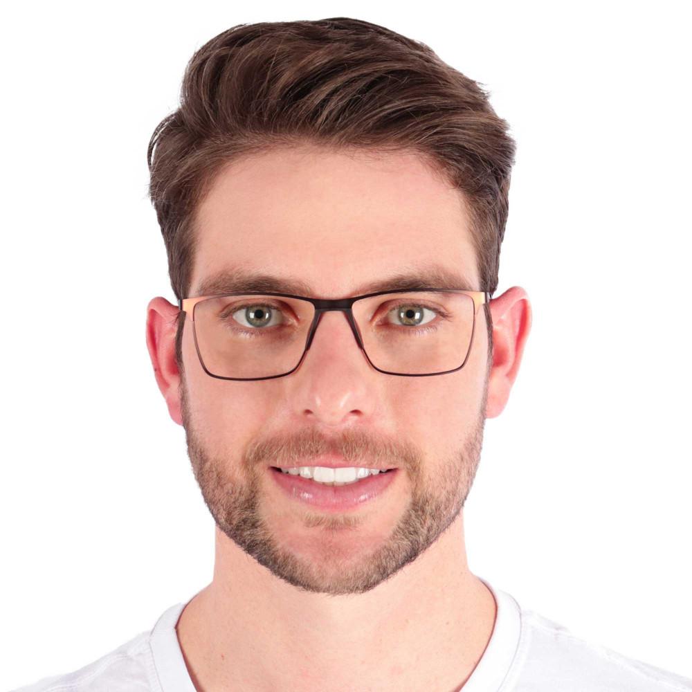 Óculos de Grau Paulo Marrom