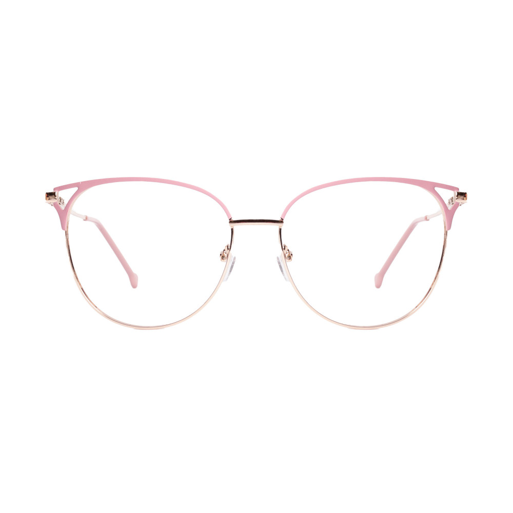 Óculos de Grau Angela Rosa com Dourado