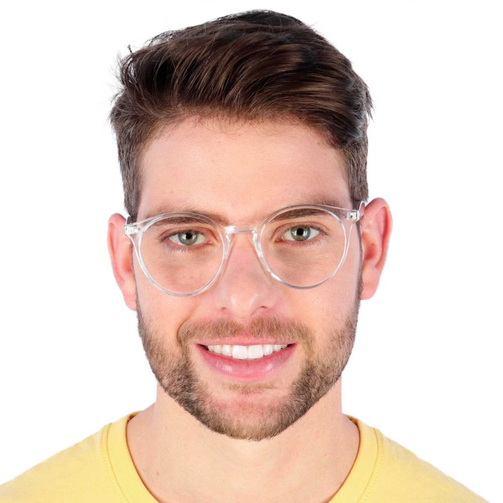 Óculos de Grau Masculino Padilha Transparente