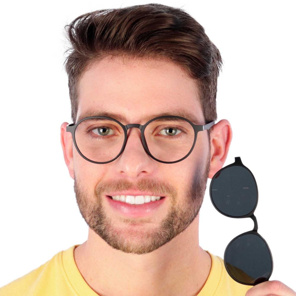 Óculos de Grau Vidal Preto