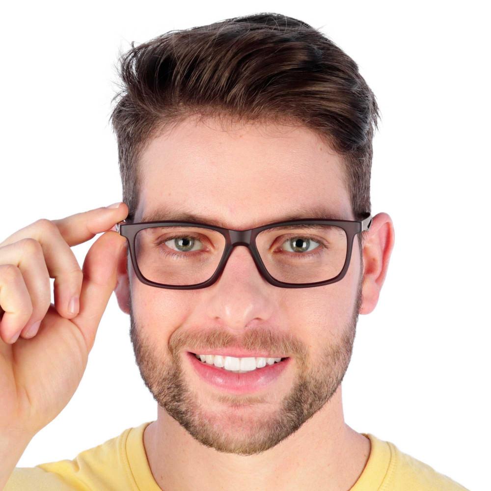 Óculos de Grau Yuri Marrom
