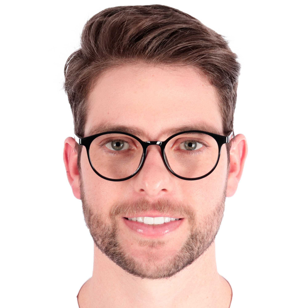 Óculos de Grau Duarte Redondo Preto