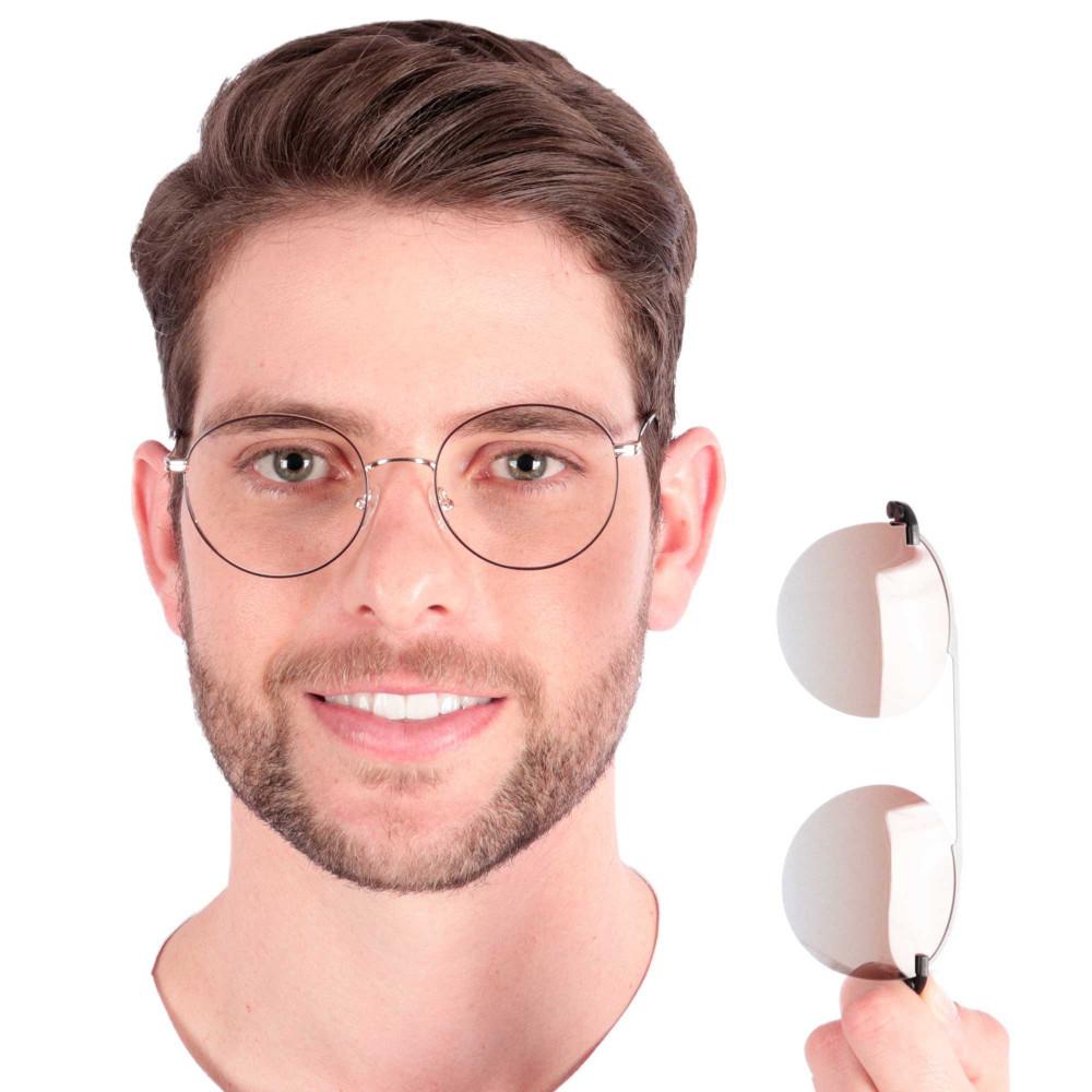 Óculos de Grau Jones Marrom