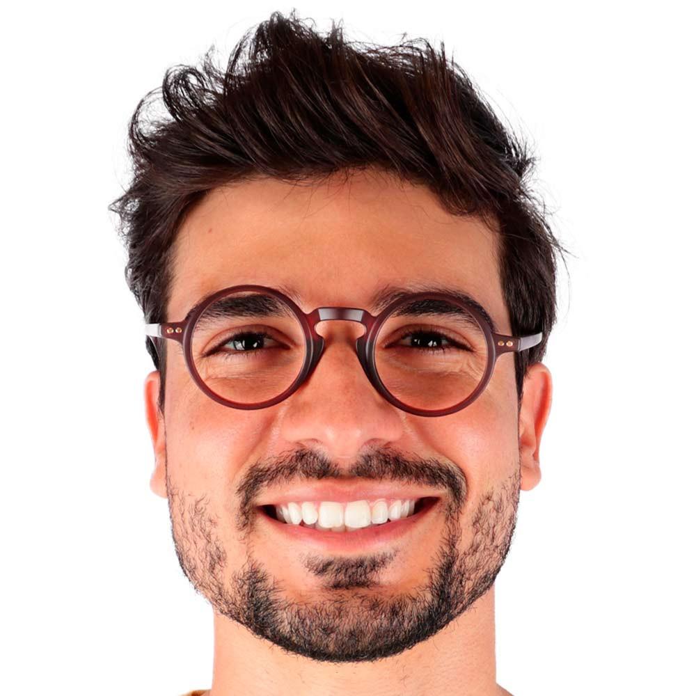 Óculos de Grau Malone Marrom