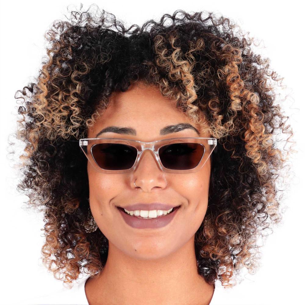Óculos de Sol Marília Transparente