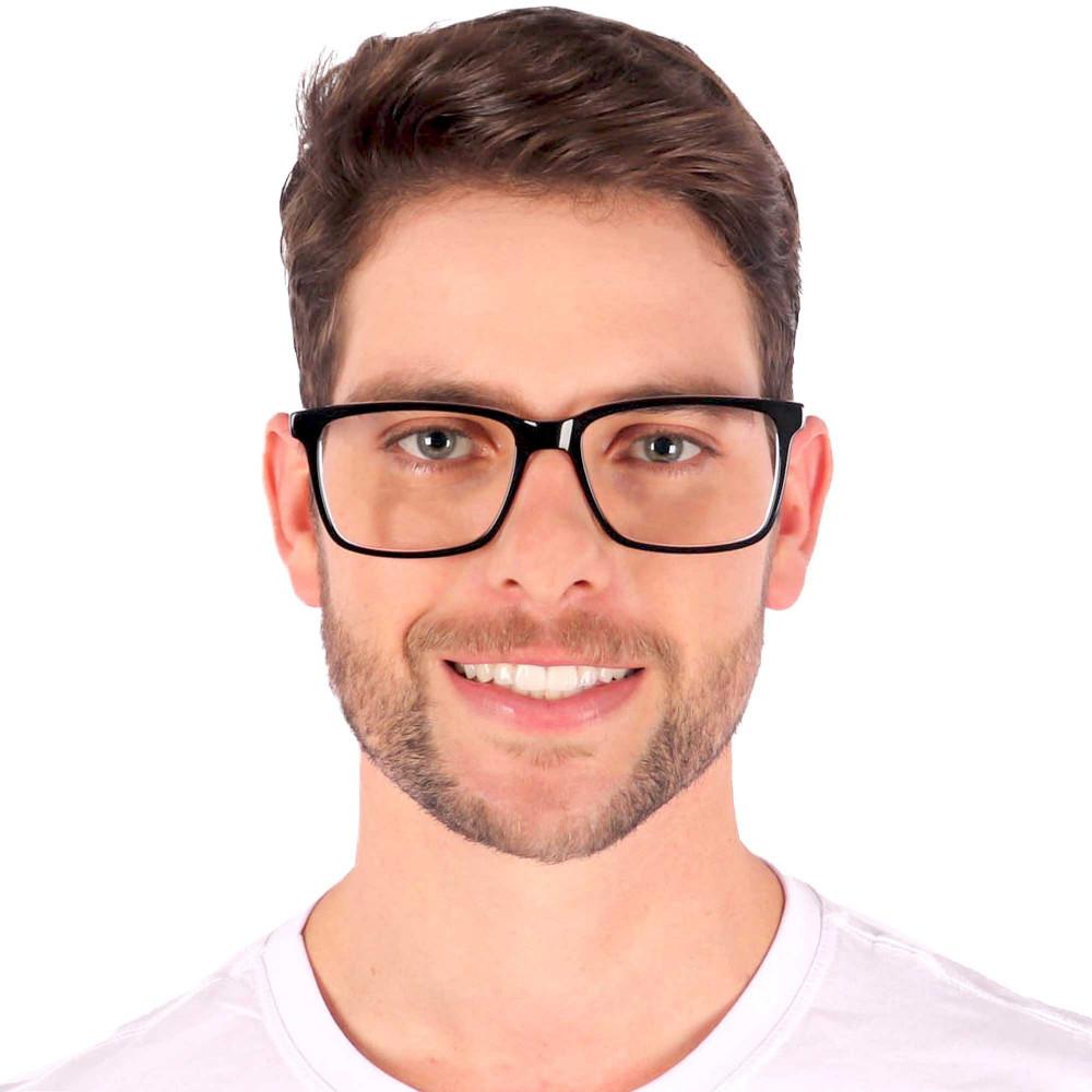 Óculos de Grau Murilo Quadrado Preto