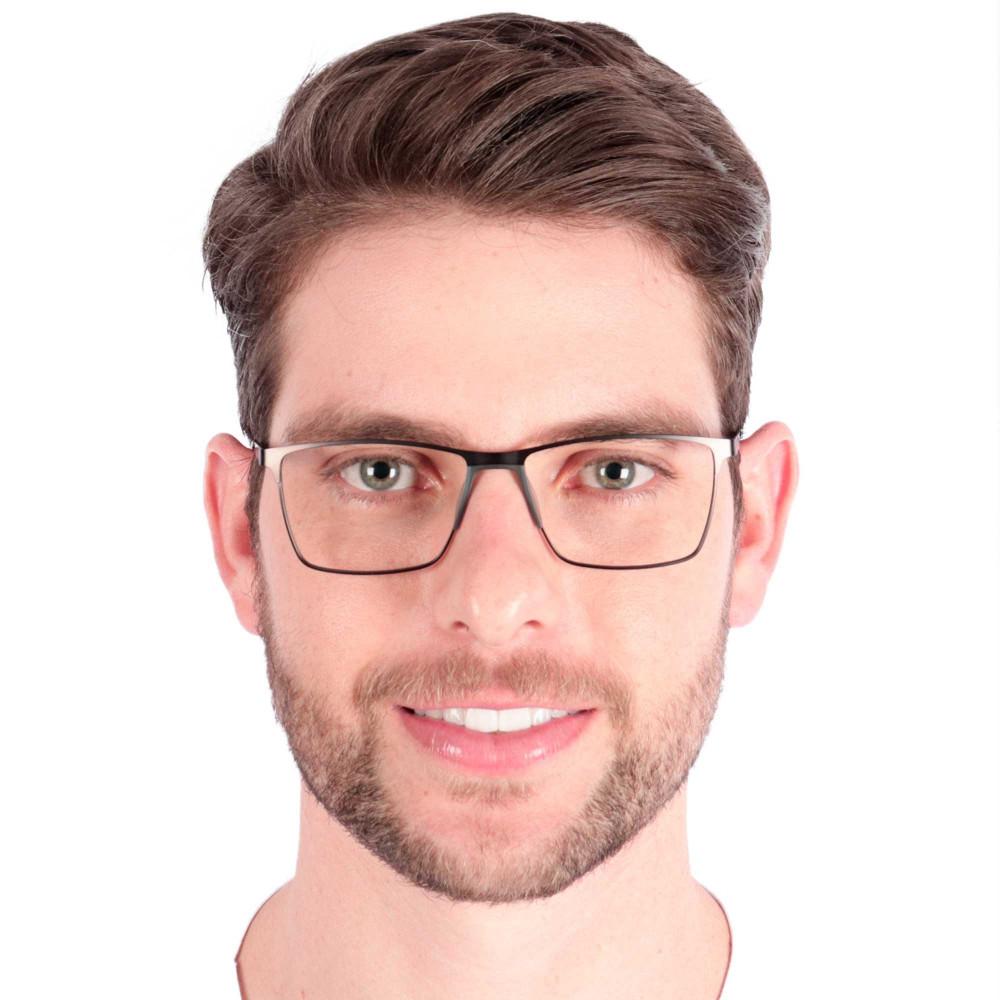 Óculos de Grau Sergio Cinza