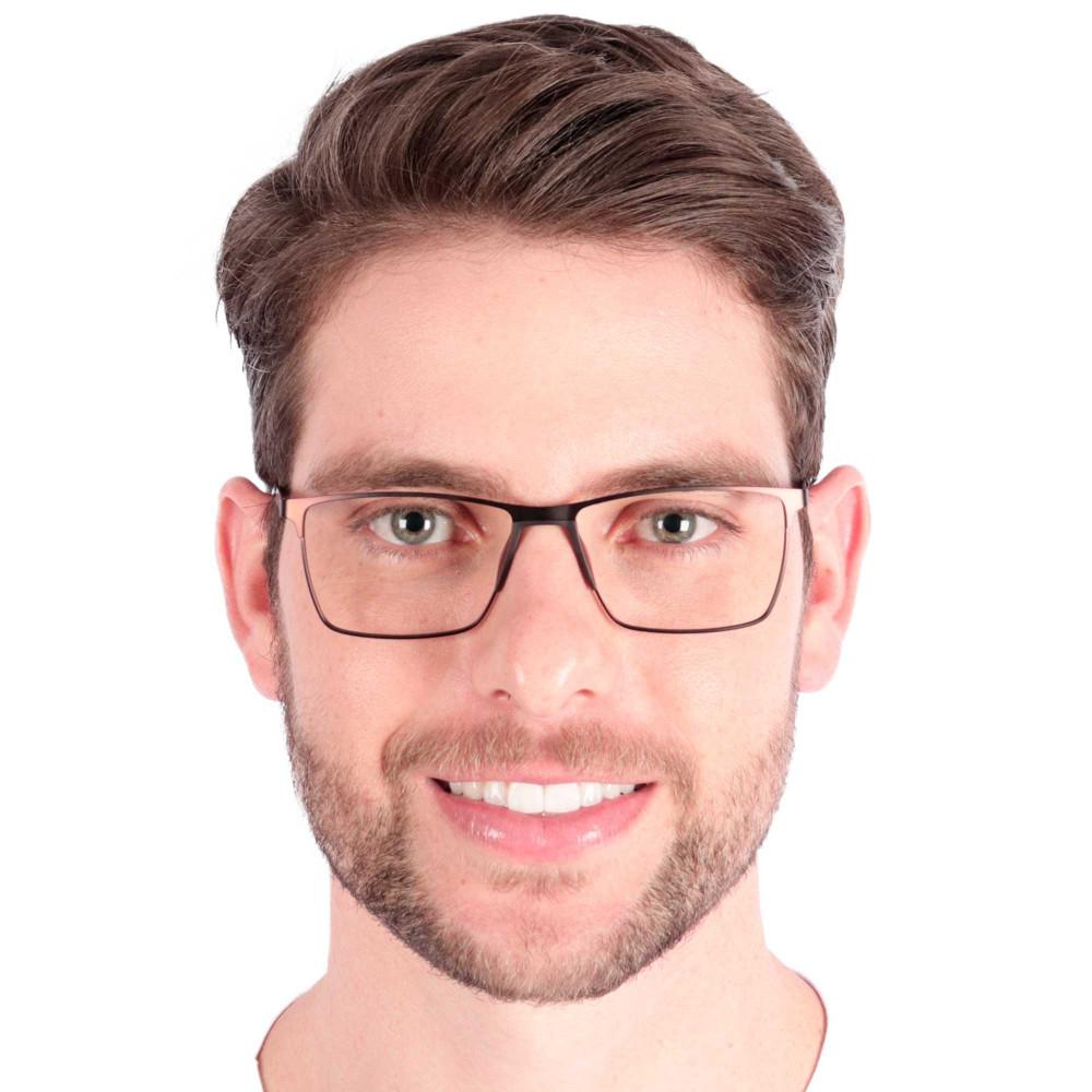 Óculos de Grau Sergio Marrom