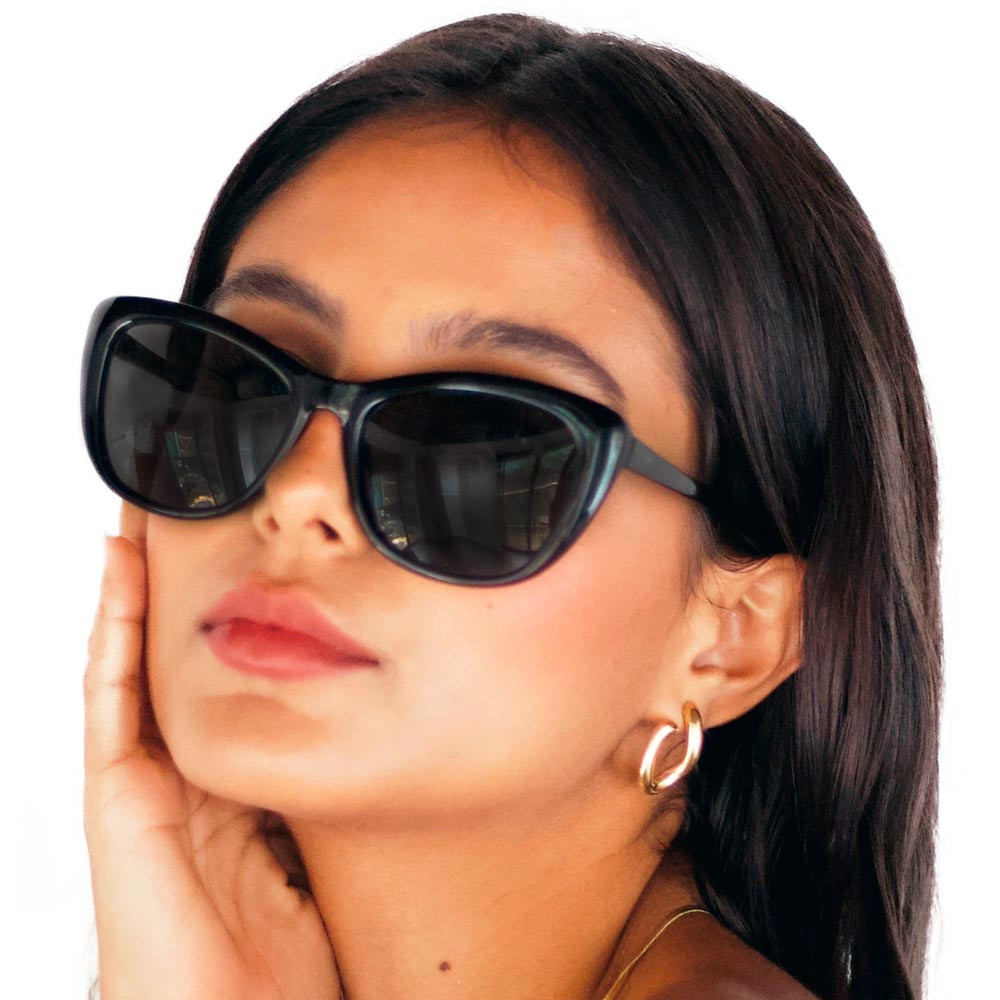Óculos de Sol Barbara Gatinho Preto