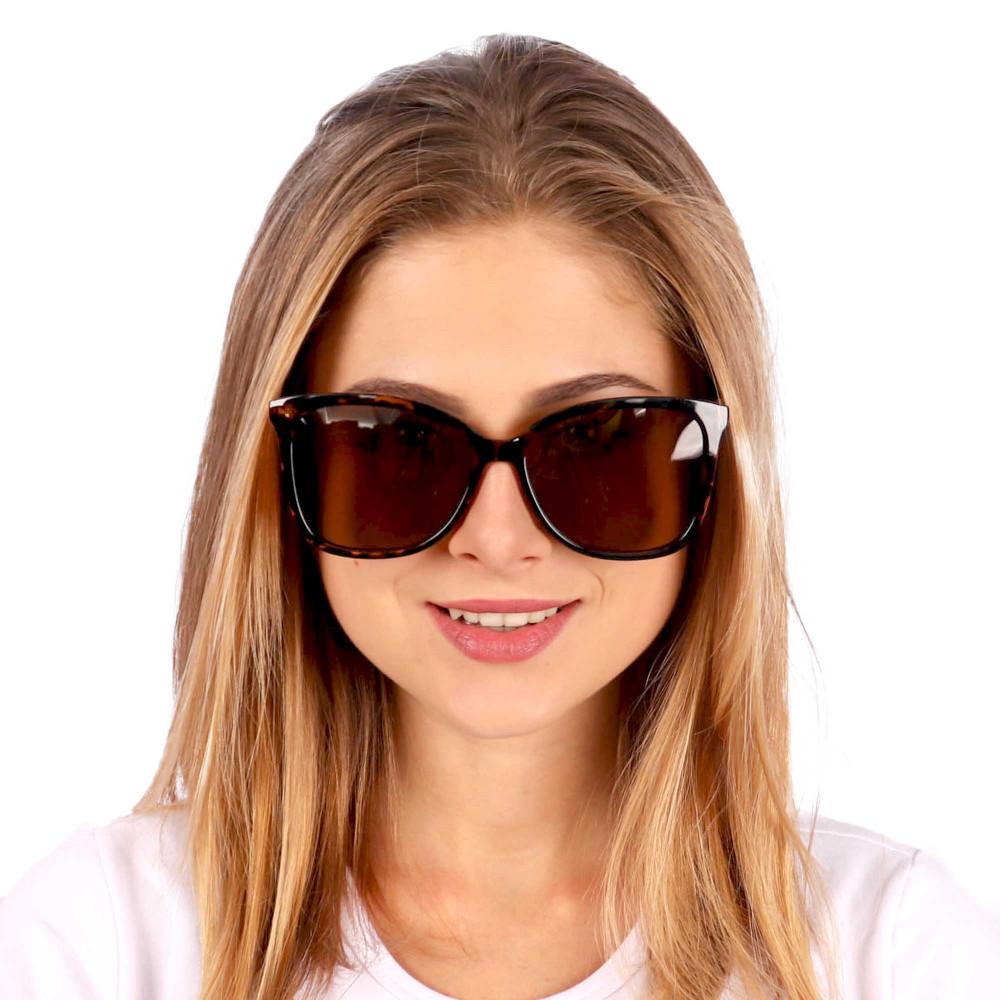 Óculos de Sol Analu Quadrado Tartaruga