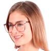 Óculos de Grau Clarissa Lilás