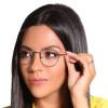 Óculos de Grau Juliette Cinza