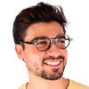 Óculos de Grau Jobs Preto
