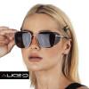Óculos de Sol Unissex Killers   Marrom com Dourado