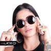 Óculos de Sol Unissex Muse | Preto com Dourado