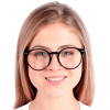 Óculos de Grau Feminino Padilha Redondo Preto
