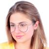 Óculos de Grau Aquino Preto com Prata