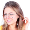 Óculos de Grau Juliette Prata