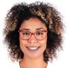 Óculos de Grau Veridiana Vinho