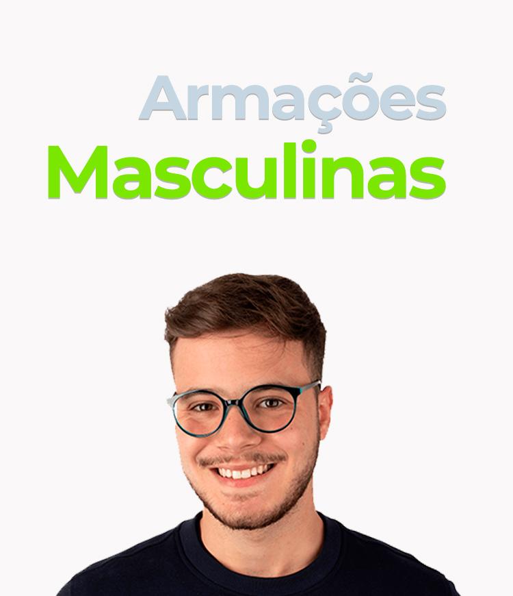 Slide - Óculos de Grau Masculino/Mobile