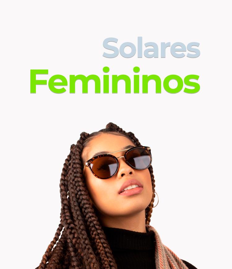 Slide - Óculos de Sol Feminino/Mobile